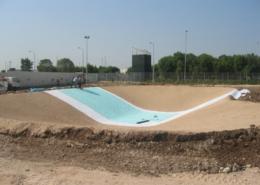 Impermeabilizzazione per lago artificiale