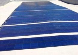 Impianto fotovoltaico sul tetto di una chiesa