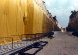 Impermeabilizzazione raccordo ferroviario