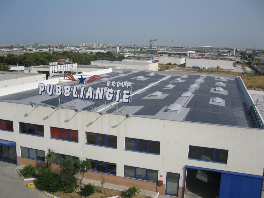 Impianto fotovoltaico_stabilimento industriale 95 kw