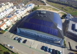Impianto fotovoltaico del Palazzetto dello Sport