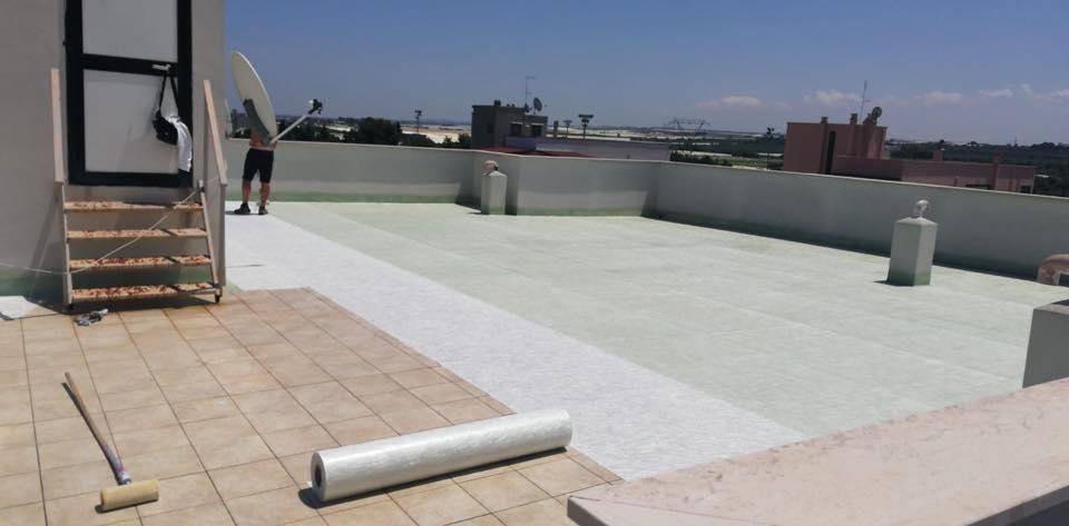 Impermeabilizzazioni edili in Puglia
